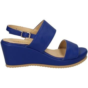Chaussures Femme Sandales et Nu-pieds Melluso O3400X chaussures compensées Femme BLEU BLEU