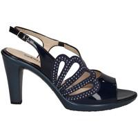 Chaussures Femme Sandales et Nu-pieds Melluso HR50121 Avec talon Femme BLEU BLEU