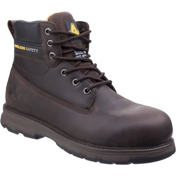 Chaussures Homme Boots Amblers Safety AS170 Westwood Marron