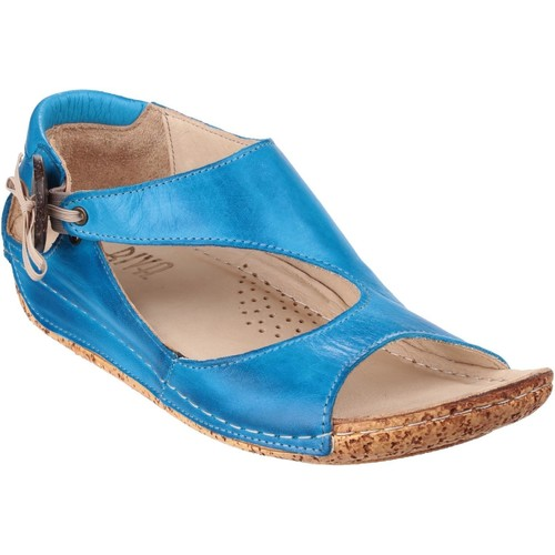 Chaussures Femme Sandales sport Riva Di Mare Cartier Leather Cobalt