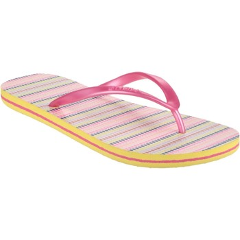 Chaussures Tongs O'neill 59.509554.4900A O'Neils FTW Moya Stripe Rose