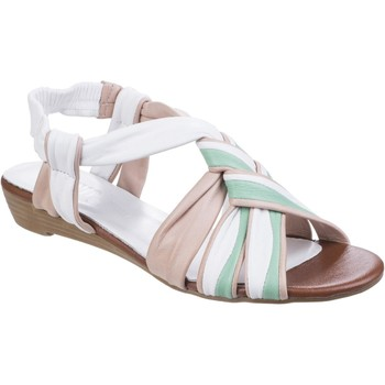 Chaussures Sandales et Nu-pieds Riva Di Mare Cala Leather Blanc