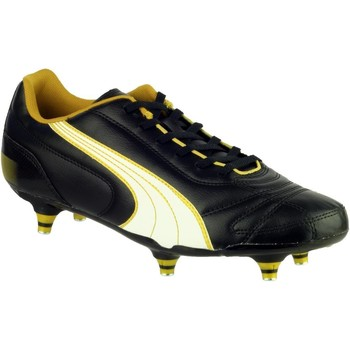 Chaussures Homme Football Puma Kratero Screw-in Noir et White et Gold
