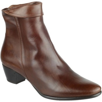 Chaussures Femme Bottines Riva Di Mare Armadillo Leather Boots Marron