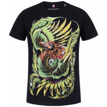 Vêtements Homme T-shirts manches courtes Horspist Tee-shirt $SKU Noir