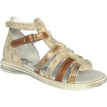 Chaussures Fille Sandales et Nu-pieds Bellamy satin doré
