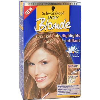 Beauté Femme Colorations Schwarzkopf Coloration POLY BLOND - 10.7 Blond Cuivré Autres