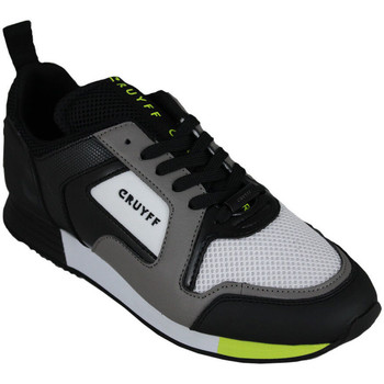 Chaussures Homme Baskets basses Cruyff lusso dk.grey/fluo yellow Noir