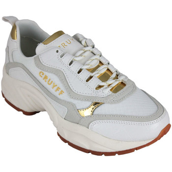 Chaussures Femme Baskets basses Cruyff ghillie white/gold Blanc