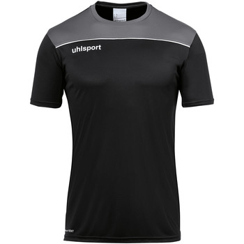 Vêtements T-shirts manches courtes Uhlsport Offence 23 TR Poly Shirt Schwarz