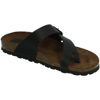 Chaussures Femme Mules Interbios  Marron
