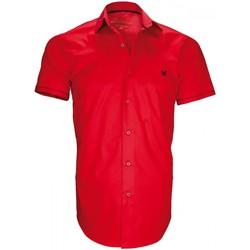 Vêtements Homme Chemises manches courtes Andrew Mc Allister chemisette mode new pacifique rouge Rouge