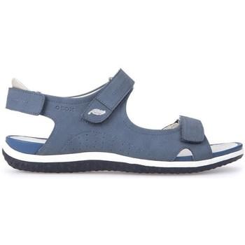 Chaussures Femme Sandales et Nu-pieds Geox D Sand Vega A Bleu