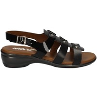 Chaussures Femme Sandales et Nu-pieds Melluso HR8336 Pays-Bas Femme NOIR NOIR