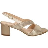 Chaussures Femme Sandales et Nu-pieds Melluso K95363 DES SANDALES Femme CHAMEAU CHAMEAU