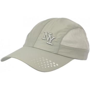 Accessoires textile Casquettes Hip Hop Honour Casquette NY Sportswear Grise Filet Tendance Baseball Zatyl Gris