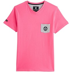Vêtements Homme T-shirts manches courtes Black Wellis ORIGINS Rose