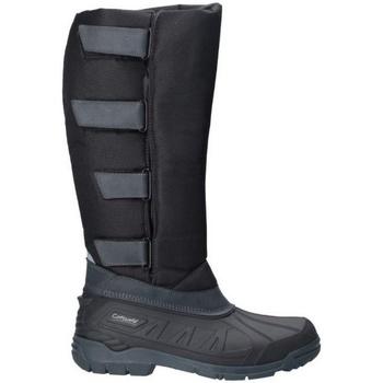 Chaussures Femme Bottes ville Cotswold  Noir