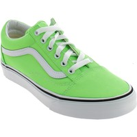 Chaussures Fille Baskets basses Vans OLD SKOOL VERDI NEON Vert