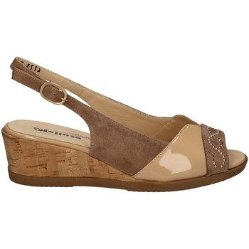 Chaussures Femme Sandales et Nu-pieds Melluso T430 DES SANDALES Femme VIANDE VIANDE
