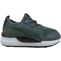 Chaussures Enfant Multisport Puma Chaussures Sportswear Baby  Rs Basis Inf Gris