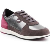 Chaussures Femme Baskets basses Geox D Avery B D52H5B-0AJ22-C1G9F brązowy, bordowy