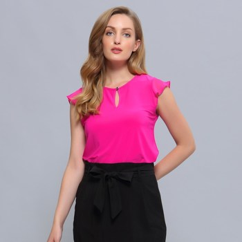 Vêtements Femme Tops / Blouses Smart & Joy Pieris Fuschia