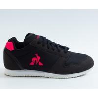 Chaussures Fille Baskets basses Le Coq Sportif JAZY GS GIRL SPORT Noir