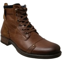 Chaussures Homme Boots Redskins Yani Marron clair cuir
