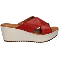 Chaussures Femme Mules Melluso 018804X ROUGE