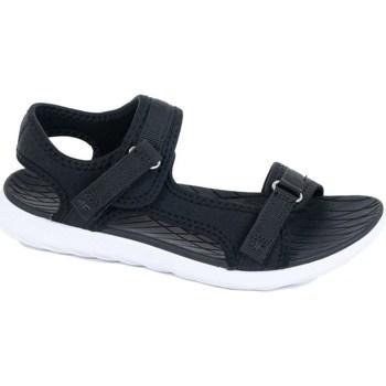 Chaussures Femme Sandales sport 4F H4L20 SAD001 Czarny Noir