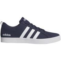 adidas Originals VS Pace Blanc, Bleu marine - Chaussures Baskets ...