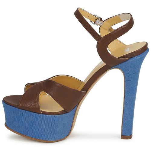 Sandales Femme marrone 9 Keyté Cuba Marrone pieds Et lux fly Nu c3l1TFKJ