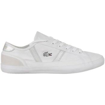 Chaussures Femme Baskets basses Lacoste Sideline 216 1 Cfa Blanc
