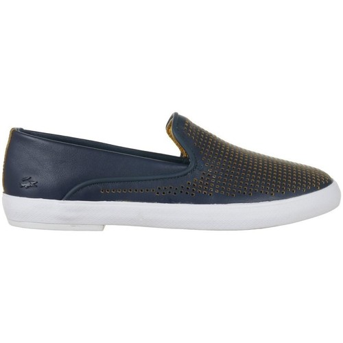 Chaussures Femme Slip ons Lacoste Cherre 216 1 Caw Bleu marine