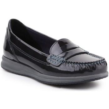 Chaussures Femme Mocassins Geox D Avery Noir