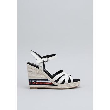 Chaussures Femme Sandales et Nu-pieds Tommy Hilfiger FW0FW04843 blanc