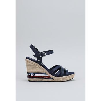Chaussures Femme Sandales et Nu-pieds Tommy Hilfiger FW0FW04843 bleu
