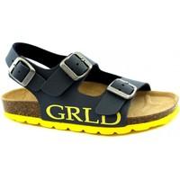 Chaussures Garçon Sandales et Nu-pieds Grunland GRU-RRR-SB1516-BG Blu