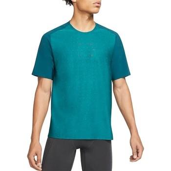 Vêtements Homme T-shirts manches courtes Nike Tech Pack Turquoise