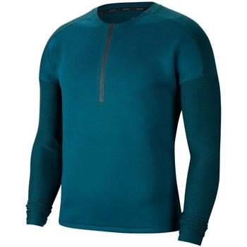Vêtements Homme T-shirts manches longues Nike Tech Pack Vert clair,Turquoise,Bleu marine