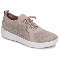 Chaussures Femme Baskets basses FitFlop F-SPORTY UBERKNIT SNEAKERS - METALLIC WEAVE Mauve