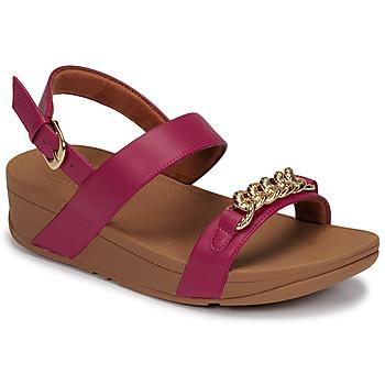 Chaussures Femme Sandales et Nu-pieds FitFlop LOTTIE CHAIN BACK-STRAP SANDALS Fuchsia
