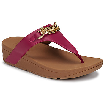 Chaussures Femme Sandales et Nu-pieds FitFlop LOTTIE CHAIN TOE-THONGS Fuchsia
