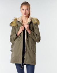 Vêtements Femme Parkas Moony Mood NADA Kaki