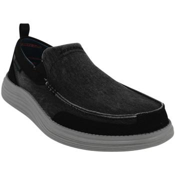 Chaussures Homme Mocassins Skechers Chaussures de ville STATUS 2.0 - LENTON noir