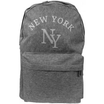Sacs Sacs à dos Hip Hop Honour Sac a Dos NY Gris Streetwear Confort et Leger Studer Gris