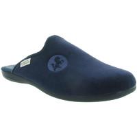 Chaussures Homme Chaussons La Maison De L'espadrille 6705 Bleu