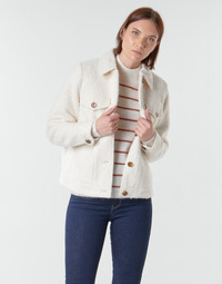 Vêtements Femme Vestes / Blazers Vero Moda VMCOZY Ecru