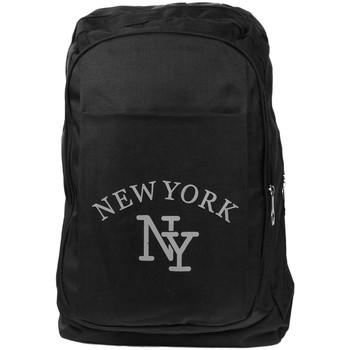 Sacs Sacs à dos Hip Hop Honour Sac a Dos NY Noir Streetwear Confort et Leger New York Colbya Noir
